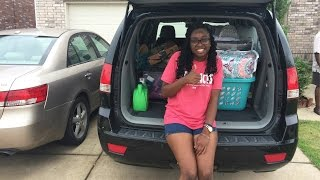 MOVE IN DAY 2016: TEXAS A&M