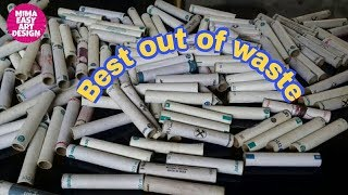 Best out of waste thread spool crafts idea #DIY Arts and crafts #diy room decor #craft projects