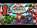 Marvel Super Hero Squad Walkthrough Part 1 ps2 Psp Wii