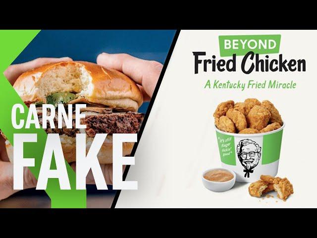 El POLLO QUE NO ES POLLO llega a KFC y se suma a la moda de la CARNE FAKE