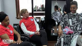 KK Cam Goes To The Hairsalon