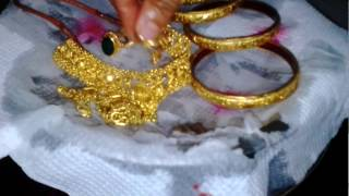 Home Tips-cleaning Of Gold आसान तरीका सोना चमकाने का