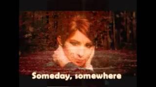 Barbra Streisand - Somewhere (with lyrics)