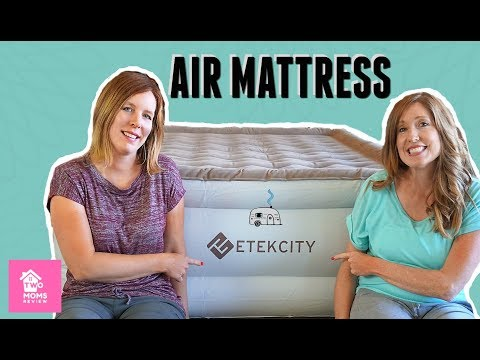 Air Mattress Review of the Etekcity Air Bed with Built In Pump!