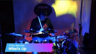 What's Up by 4 Non Blondes - Drum Cover (Alesis Crimson Electronic Drum Kit)