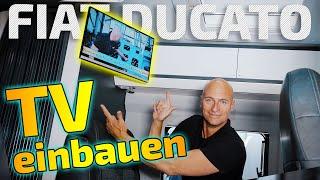TV im Wohnmobil einbauen | Fiat Ducato | ARS24