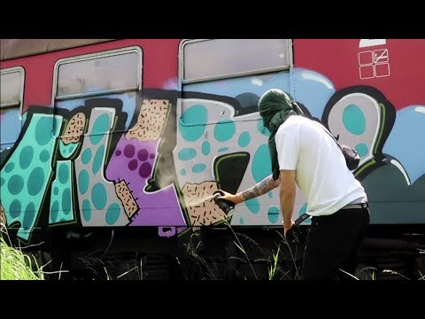 DEADLY HABITS-OFFICIAL GRAFFITI VIDEO 2018