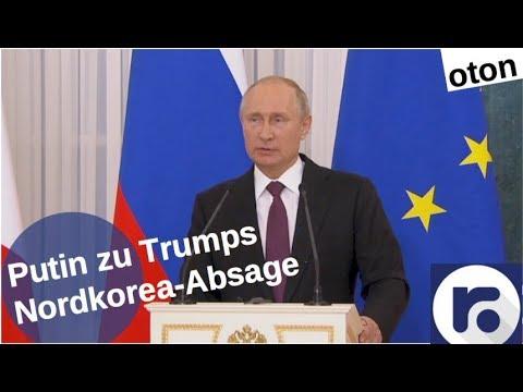 Putin zu Trumps Nordkorea-Absage auf deutsch [Video]