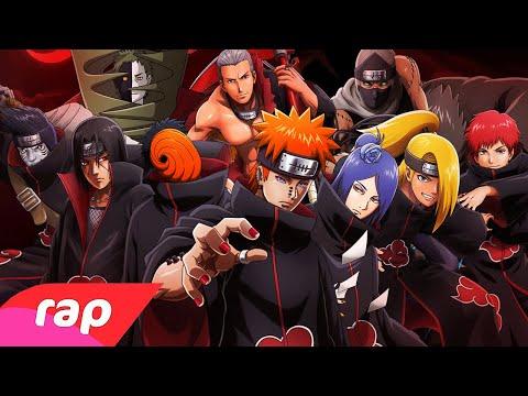 Rap da Akatsuki – Os Ninjas Mais Procurados do Mundo – 7 Minutoz