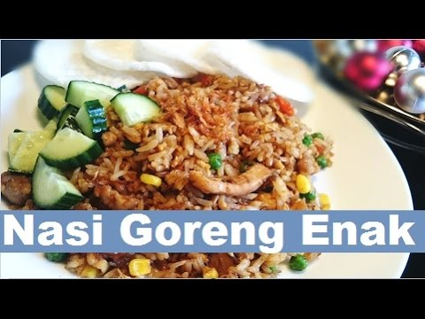 Video Resep Rahasia Nasi Goreng Enak  (The Secret Recipe of Delicious Fried Rice)