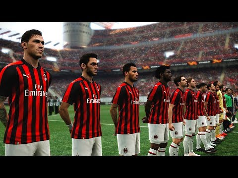AC Milan vs Olympiacos | UEFA Europa League 5 October 2018 Gameplay