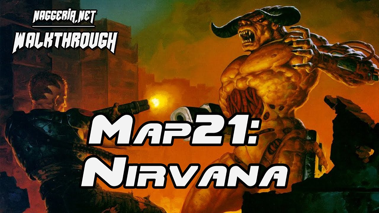 "[Doom 2 Komplettlösung] Map21: ""Nirvana"" Walkthrough (Ultra-Violence)"