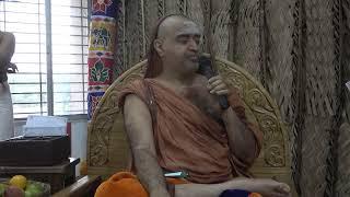 Anugraha Bhashanam on Anusham Veda Parayanam Day @ Thenampakkam on (18/3/2020)- Tamil