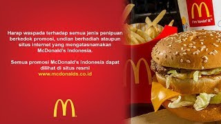 Pihak McDonalds Indonesia Buka Suara Mengenai Pesan Berantai Kupon Gratis