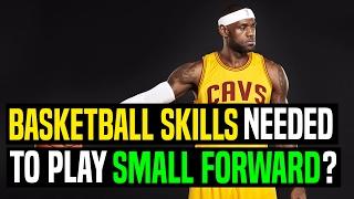 Basketball Skills Needed To Play Small Forward?   Dre Baldwin