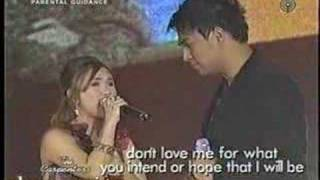 Love Me for What I Am - Sheryn Regis w/ Jed Madela