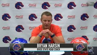 Boise State coach Bryan Harsin on playing Oklahoma State