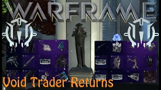 Warframe - Void Traders Returned! 147th Rotation [31st July 2020]