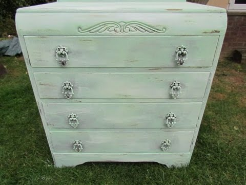Diy Vintage Shabby Chic Furniture Do It Yourself