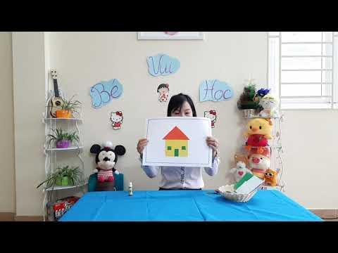 Bài giảng trực tuyến (Dạy trẻ 4-5 tuổi xé dán ngôi nhà) Do cô giáo Kiều Thị Hồng - Trường MN Tô Hiệu, TP Sơn La thực hiện