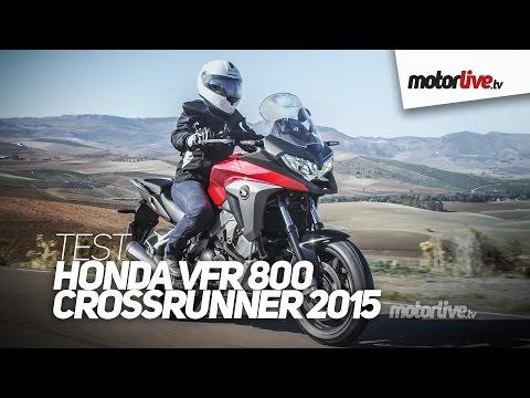 TEST   HONDA VFR 800 X CROSSRUNNER 2015