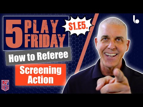 How to referee BASKETBALL SCREENING | Learn to Referee ...