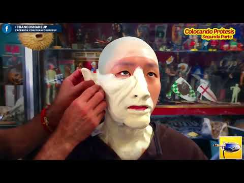 Special Effects Makeup⎮Segunda Parte - Colocando Prótesis.