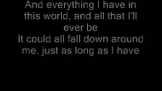 Here By Me - 3 Doors Down (lyrics)