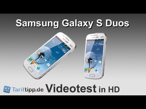 Youtube Video Samsung Galaxy S DuoS S7562 in pure white