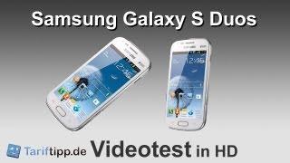 Samsung Galaxy S Duos | Handytest in HD (deutsch)