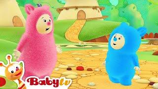 Billy Bam Bam Haciendo música con platillos  | BabyTV (Español)