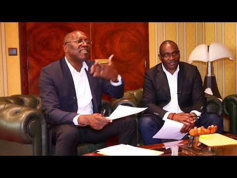 S.E. André MAGNUS ekoumou ambassadeur du Cameroun en France, l'exclusivité