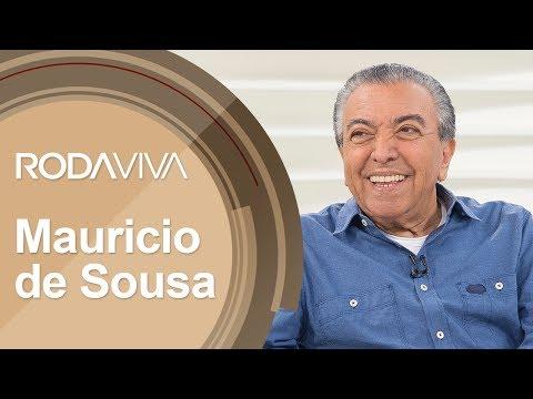 Roda Viva   Mauricio de Sousa   03/07/2017