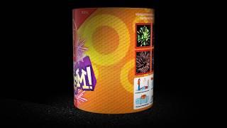 """""""Будем"""" ЕС215 салют 10 залпов 0,8"""" от компании Интернет-магазин SalutMARI - видео"""