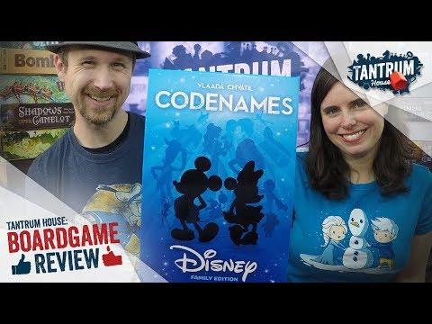 Codenames Disney Review - Tantrum House
