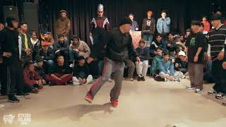 SAYONARA SQUAD vs. TRUE SKOOL TAKEOVER, Bboy Crew Semi | Kyushu Island Jam 2018