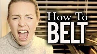How to Belt - Evynne Hollens