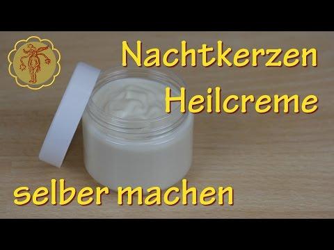 Nachtkerzen-Heilcreme selber machen - gegen Juckreiz und Ekzeme