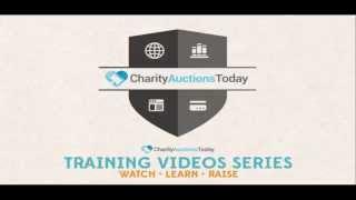 Vidéo de Charity Auctions Today