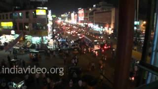 A night in Hyderabad city