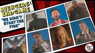 "Avengers: Endgame Cast Sings ""We Didn't Start the Fire"""