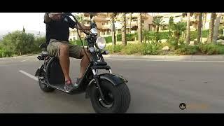 Scooter eléctrico estilo choper   Moto eléctrica ATAA matriculable con batería extraíble 1
