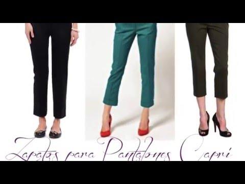Zapatos para pantalones capri