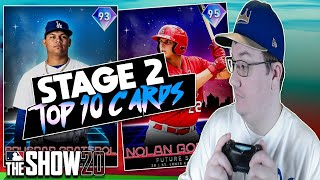 Top 10 Stage 2 Team Affinity Future Stars Cards | MLB The Show 20 Diamond Dynasty