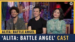 Jorge Lendeborg Jr., Lana Condor and Keean Johnson talk 'Alita: Battle Angel'