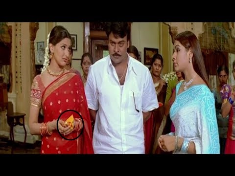 Aarthi Agarwal & Sonali Bendre Best Movie Scene | #chiranjeevi | Vendithera