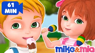 One Two Buckle My Shoe   Nursery Rhymes Playlist for Children   Kids Songs Collection by Mike & Mia