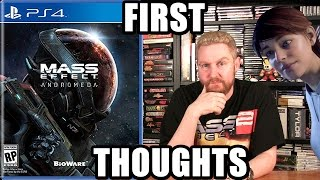 MASS EFFECT ANDROMEDA (First Thoughts) - Happy Console Gamer