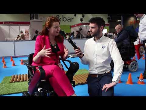 TGA: Dr Hannah Barham-Brown test drives the WHILL Model C powerchair YouTube video thumbnail