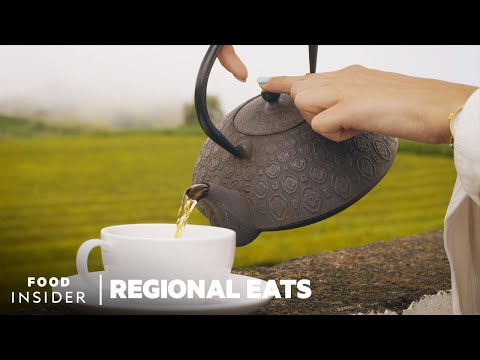 Making Tea in Europe's Oldest Tea Farm